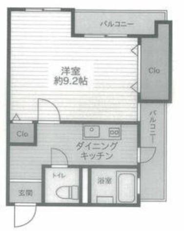 渋谷コーポラス / 2階 部屋画像1