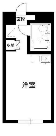 黒田屋ハイツ / 3階 部屋画像1