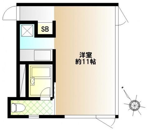 イソラ中目黒 / 209 部屋画像1