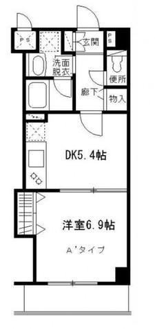 鮫洲 4分マンション / 1階 部屋画像1