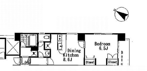 本芝ビル / 8階 部屋画像1