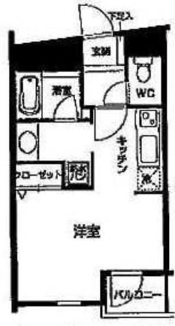 HF高輪レジデンス(旧:シングルレジデンス高輪) / 106 部屋画像1
