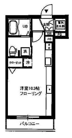 クレスト自由が丘(緑が丘2) / 102 部屋画像1