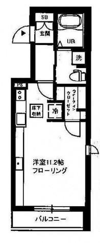 クレスト自由が丘(緑が丘2) / 2階 部屋画像1