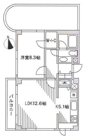 石川台 4分マンション / 3階 部屋画像1