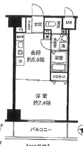 ヴェルデ東日本橋 / 8階 部屋画像1