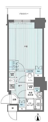 フェニックス西参道タワー / 601 部屋画像1