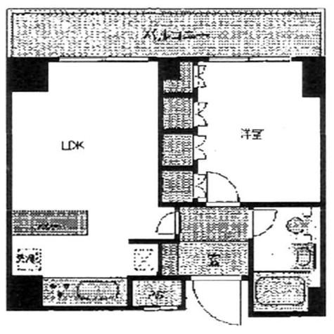 マナハウス四谷 / 2階 部屋画像1