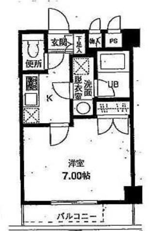 グランフォレ不動前 / 1階 部屋画像1