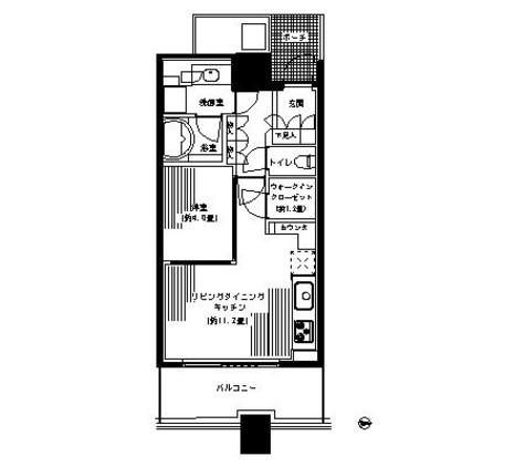 パークタワー横浜ステーションプレミア / 1712 部屋画像1