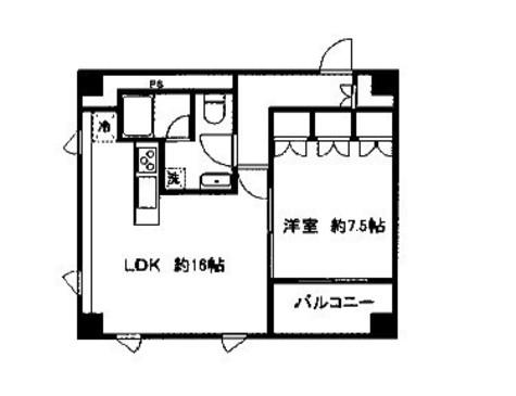 アソルティ横濱馬車道 / 704 部屋画像1