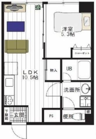 サンストン白金台 / 2階 部屋画像1