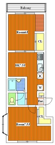 メゾン15(MAISON15) / 101 部屋画像1