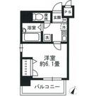 八丁堀 3分マンション / 301 部屋画像1
