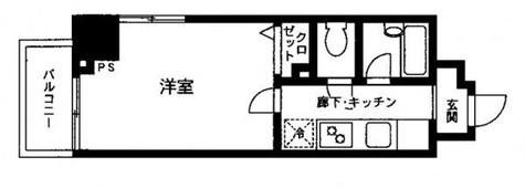 プライムアーバン飯田橋 / 1205 部屋画像1