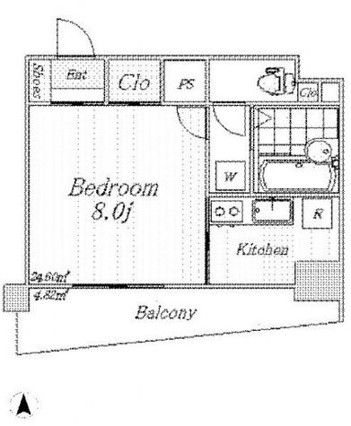 スカイコート九段下 / 12階 部屋画像1
