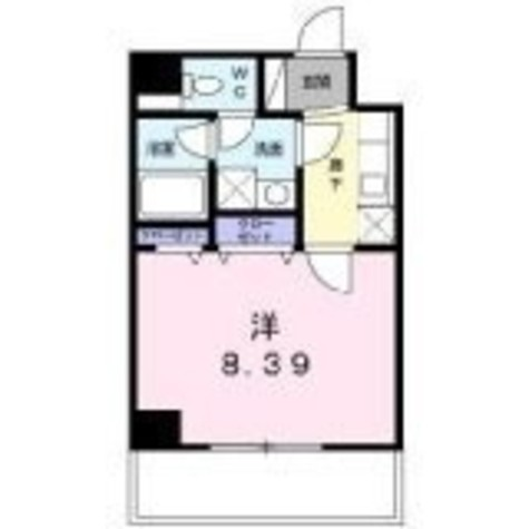 パラッツオ八ッ山 / 4階 部屋画像1