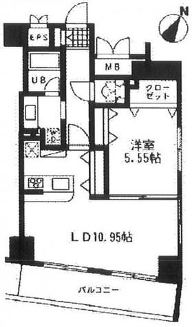 レジディア日本橋人形町Ⅱ(旧アルティス人形町) / 13階 部屋画像1