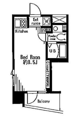 レジディア市谷薬王寺 / 10階 部屋画像1