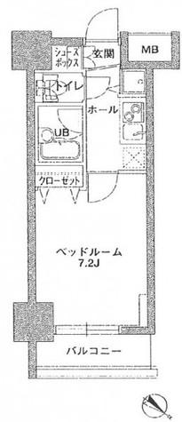 KDX岩本町レジデンス / 12階 部屋画像1