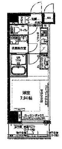 プレスタイル神楽坂 / 3階 部屋画像1
