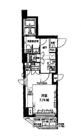 プレスタイル神楽坂 / 305 部屋画像1