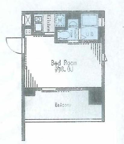 レジディア市谷薬王寺 / 2階 部屋画像1