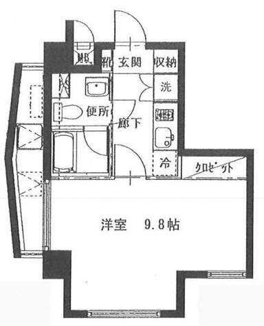 KDXレジデンス門前仲町 / 4階 部屋画像1