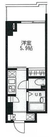門前仲町レジデンス壱番館 / 1204 部屋画像1
