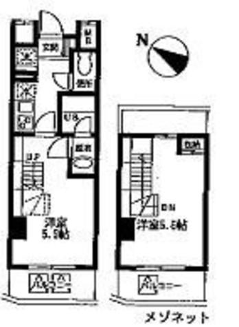 ユニフォート目黒中町 / 603 部屋画像1