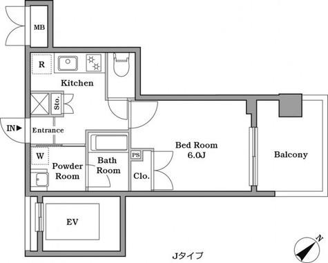 レジデンス西馬込 / 608 部屋画像1