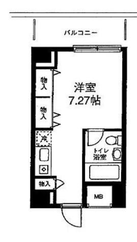 メゾン・ド・ヴィレ麻布台 / 3階 部屋画像1