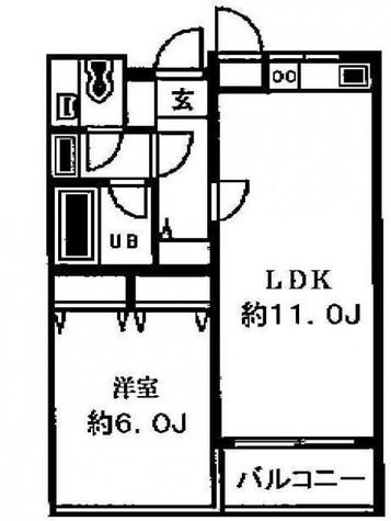 アーデン目黒通り(旧ミルーム目黒通り) / 703 部屋画像1