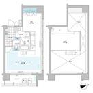 プライムアーバン芝浦LOFT(旧アーバンステージ芝浦LOFT・Cove Shibaura LOFT) / 1001 部屋画像1