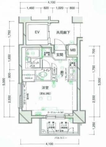 クレアシオン渋谷 / 501 部屋画像1