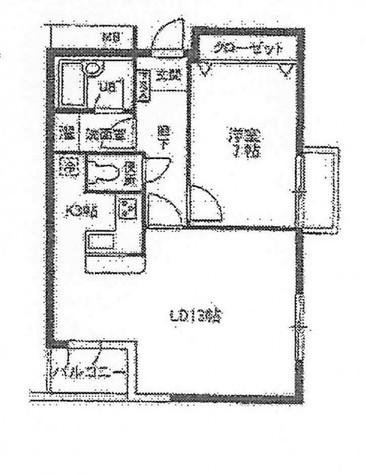 ローレルフラット / 4階 部屋画像1