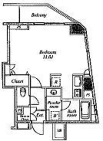 セントラルクリブ六本木Ⅰ / 1205 部屋画像1