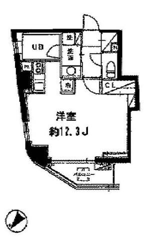 セントラルクリブ六本木Ⅰ / 805 部屋画像1