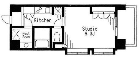 コートラクリア京橋 / 12階 部屋画像1