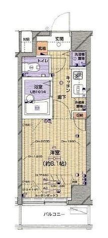 菱和パレス代官山 / 5階 部屋画像1
