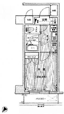 ヴェルトウォーターフロント / 2階 部屋画像1