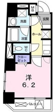 サンベルジュ目黒 / 2階 部屋画像1