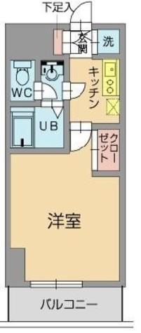 メゾン・ド・ヴィレ日本橋浜町 / 4階 部屋画像1
