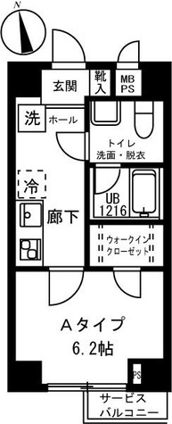 リバージュ弘明寺 / 2階 部屋画像1