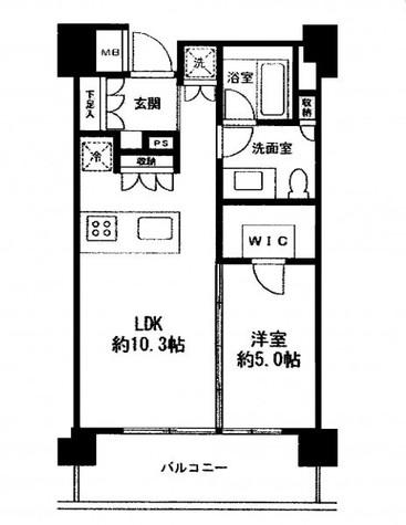 イクサージュ目黒 / 2階 部屋画像1