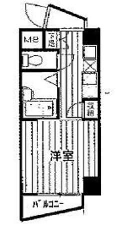 プレール学芸大学弐番館 / 4階 部屋画像1