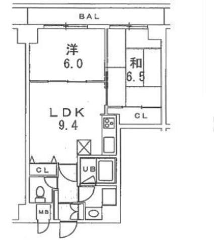 秀和新川アネックス / 9階 部屋画像1