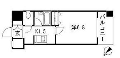 ドゥーエ新川 / 13階 部屋画像1