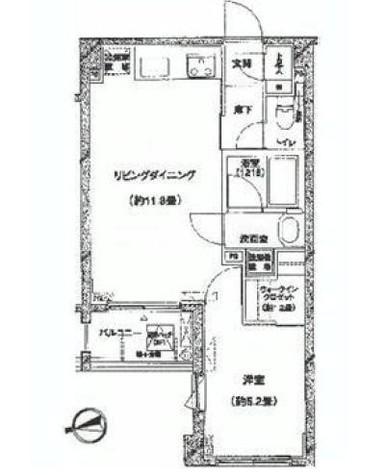 シュロス初台 / 303 部屋画像1
