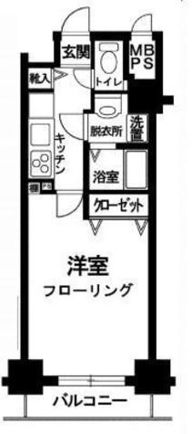 セザールスカイタワー銀座東 / 6階 部屋画像1